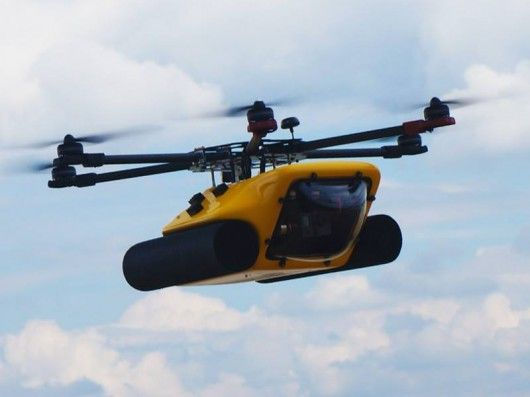 Amphibious HexH2o drone shoots both aerial and underwater video [Future Drones: ...