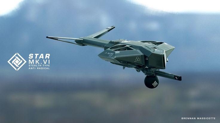 ArtStation - STAR drone, Brennan Massicotte