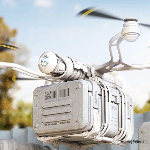 Delivery Drones [Future Drones: futuristicnews.co... Drones for Sale: futuristic...