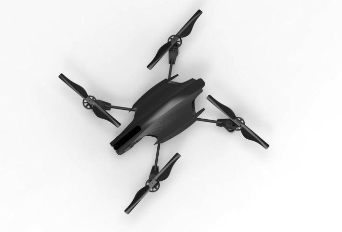 Drone Quadricopter Design - Cuadricoptero diseño by Juan José Foc at Coroflot....