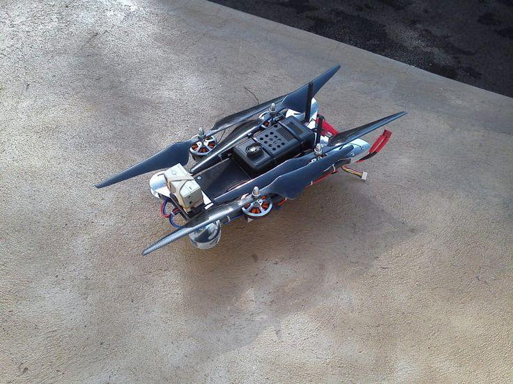 Folding Quadcopter for the holidays - DIY Drones