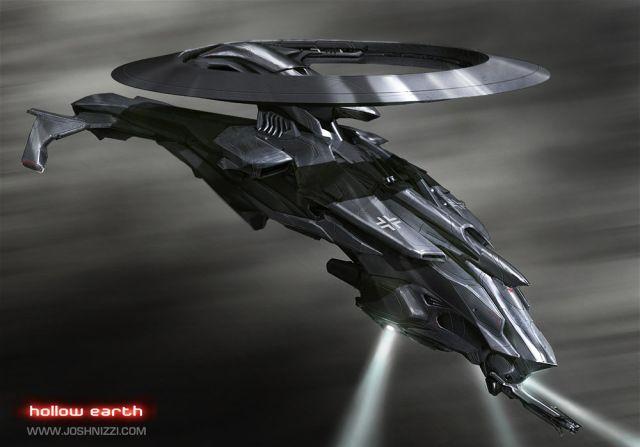 Futuristic vehicle, flying, digital art, future