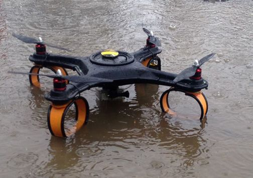 Game of Drones - Waterproof and ready for action