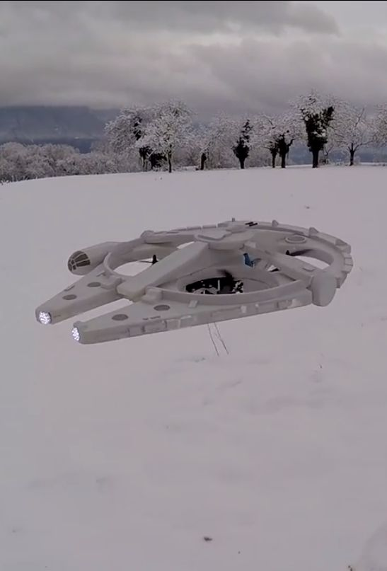 How do you make drones cooler -- turn them into the Millennium Falcon from Star ...