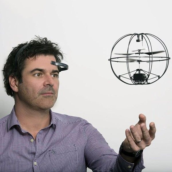 Mind-Controlled Helicopter by Puzzlebox Orbit  - $230 | FuturisticSHOP.com