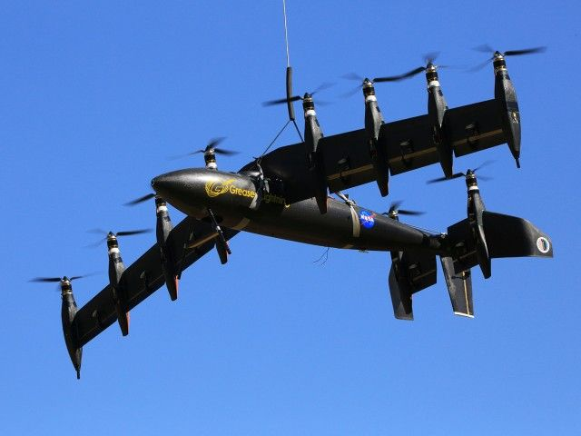 NASA's GL-10 Greased Lightning electric-hybrid VTOL drone