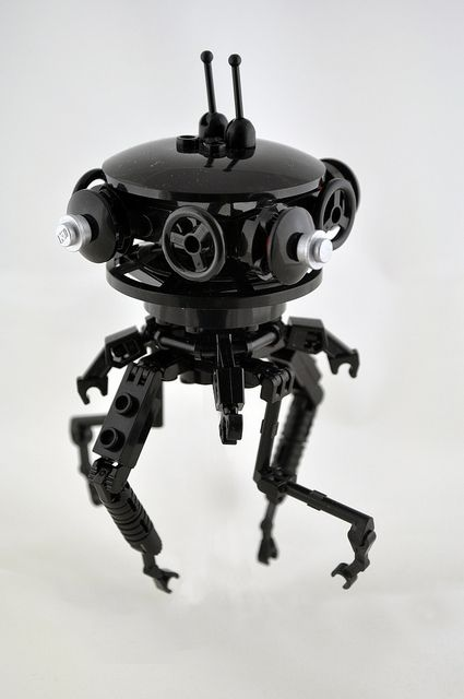 Probe droid  by Omar + kamitera, via Flickr