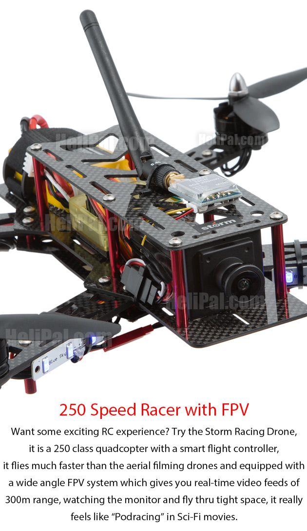 Speed with FPV! www.helipal.com/... #QAV250
