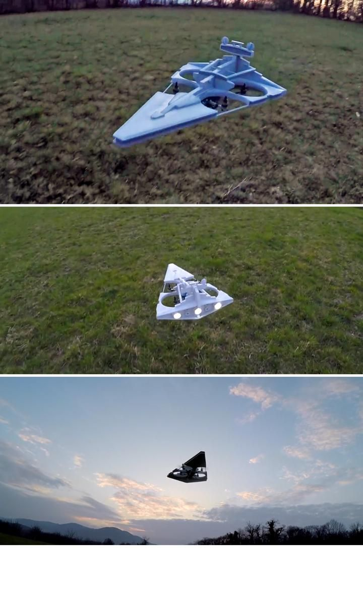 an Imperial Star Destroyer drone