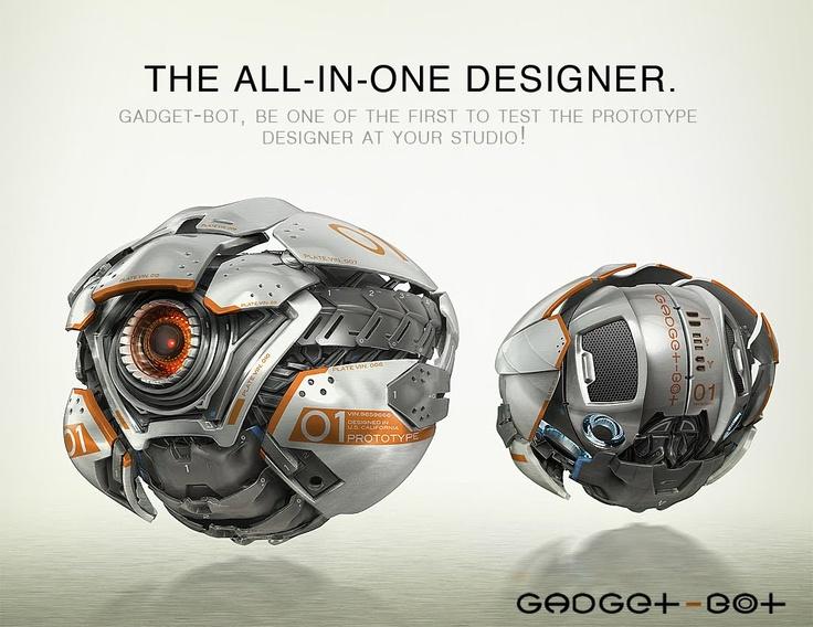 Orby Drone; um drone de combate, uma de suas habilidades e utilidades é recuper...