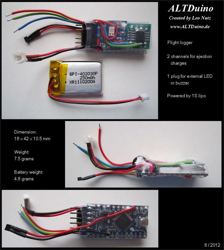 ALTDuino - A homemade altimeter for model rockets