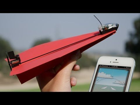 Drone Homemade : Electric Paper Airplanes Boost your classic origami creations w...