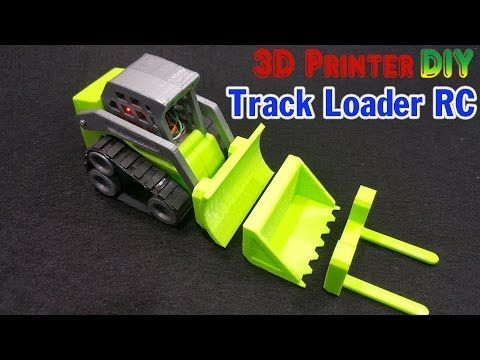 Drone Homemade : How To Make a Mini Track Loader RC With 3D Printer  YouTube