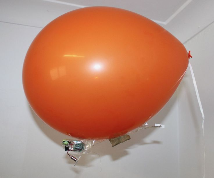 Drone Homemade : One of the themes in my RC Blimp projects is building them smal...