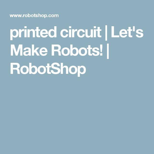 Drone Homemade : printed circuit | Let's Make Robots! | RobotShop