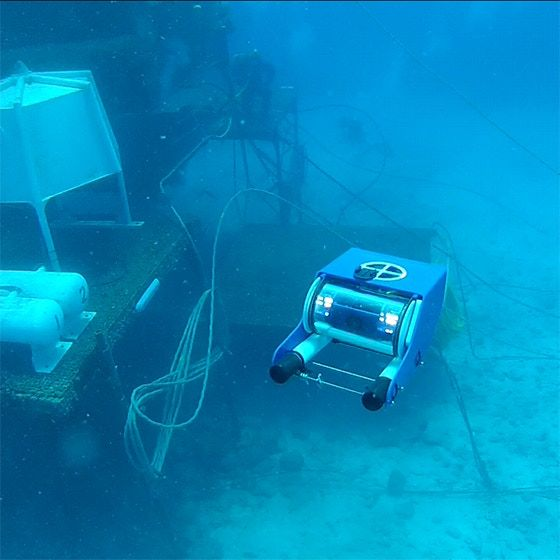 OpenROV is an open-source underwater robot for exploration and education. We wan...