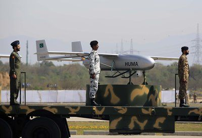 Pakistan Claims First Ever Use Of Homemade Armed Drone