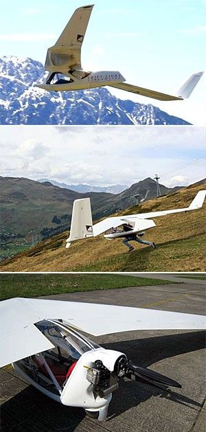 The Swift Light.. Not only can you run off a mountain with this a rigid-wing lig...