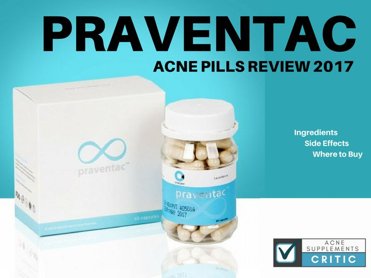 This is the 2017 Praventac acne pills review.It is the most descriptive and up t...