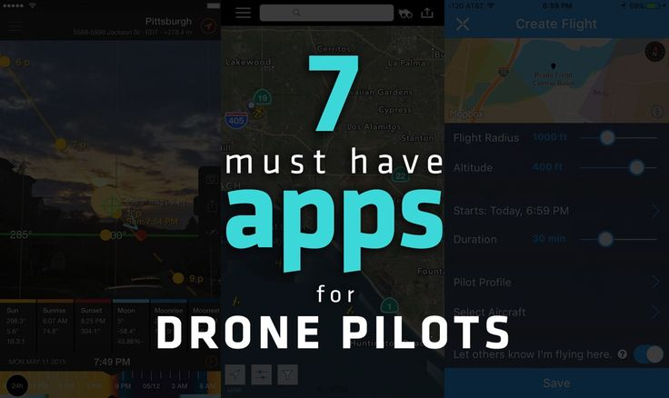 7 Must-Have Apps for Drone Pilots Tap the link for an awesome selection of drone...