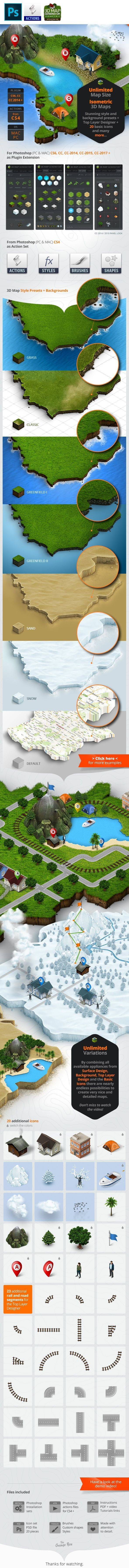 Drone Infographics : 3d continent country creator directions earth generator geo...