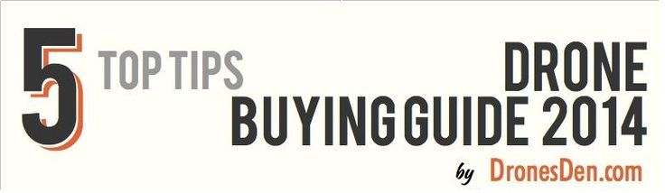 Drone Infographics : Drone Buying Guide 2014