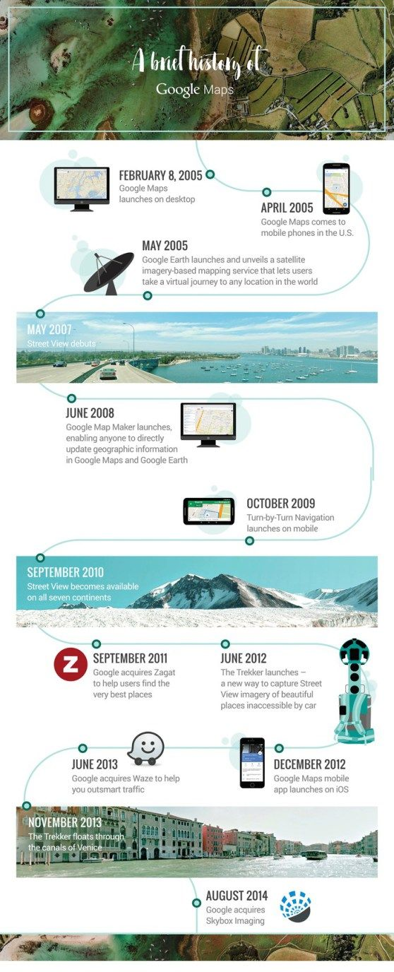 Infographic reveals Google Maps trajectory in its ten years (Reuters / Google)