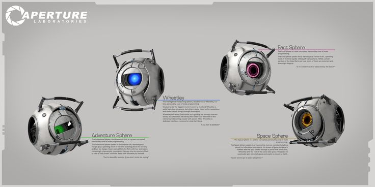 Portal 2 Cores by Titch-IX on DeviantArt