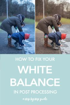 Get rid of wonky color casts by fixing your white balance in processing. This ph...