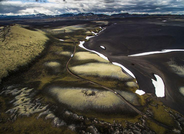 Iceland Aerial Landscapes on Behance