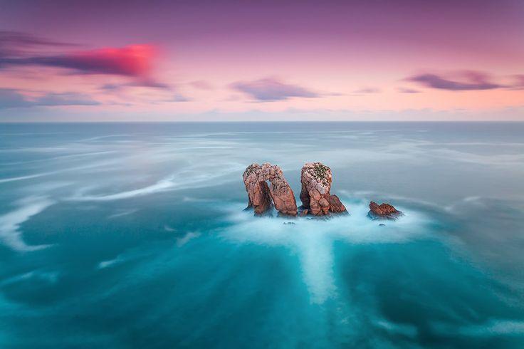 Los Urros - Costa Quebrada - Cantabria (Spain) by Eric Rousset