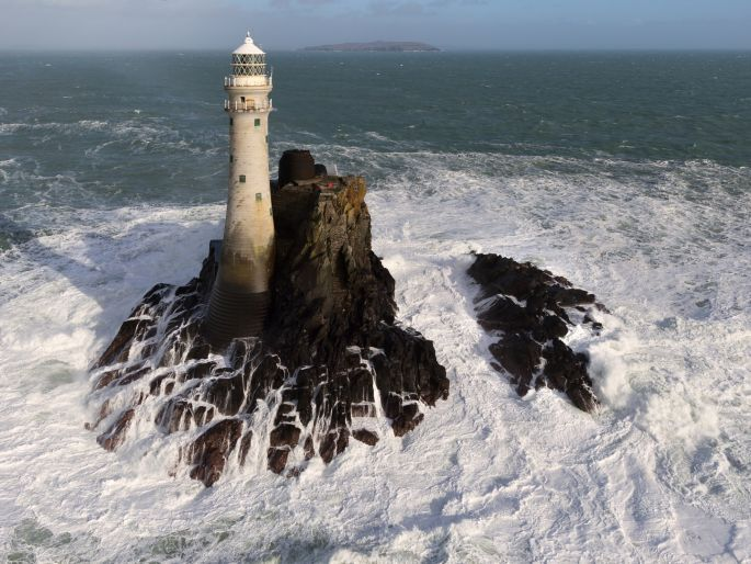 Peter Cox has produced the first Irish photo book using drone-based cameras to c...