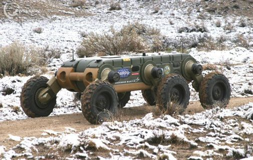 Gladiator Tactical Unmanned Ground Vehicle | UGCV - UNMANNED GROUND COMBAT VEHIC...