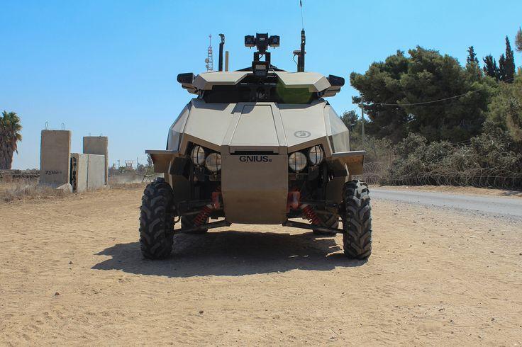 IAI GUARDIUM Unmanned Security Vehicle