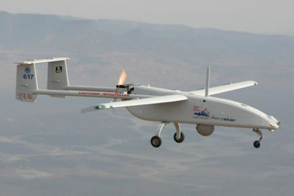 Israel has supplied 60.7 percent of the world's drones since 1985, according...