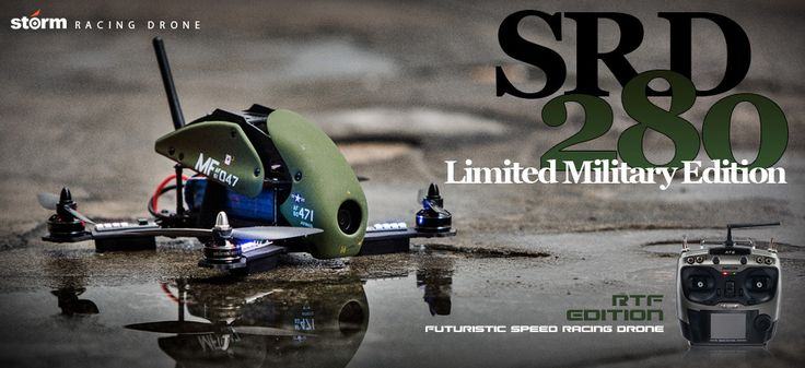 Limited Edition!! Storm Racing Drone SRD280 V4 Military Spec - Ready to Fly Pack...