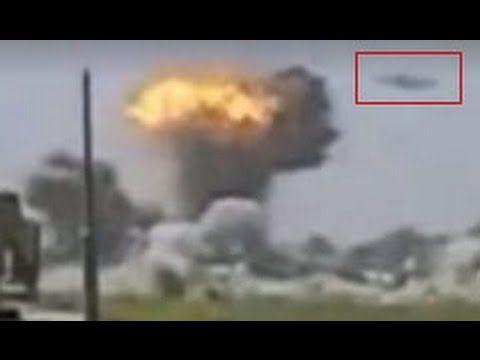 Marine Captures UFO Destroying Taliban Base: