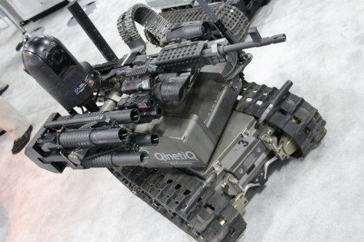 QinetiQ North America's Modular Advanced Armed Robotic System (MAARS)