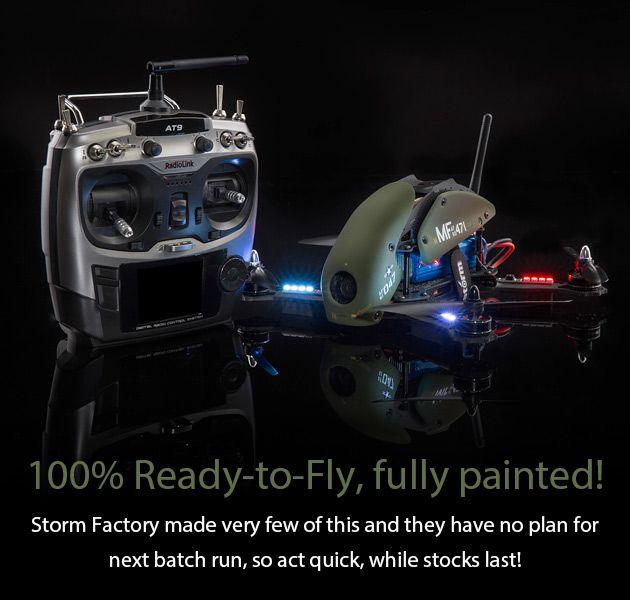 STORM Racing Drone (RTF / SRD280 Military Spec) - HeliPal
