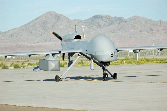 The Army's NERO program tested a converted Navy jammer on a Grey Eagle drone...
