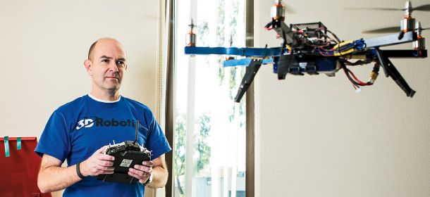 Wireds Former Editor Lands $5 Million for His DIY Drone Business