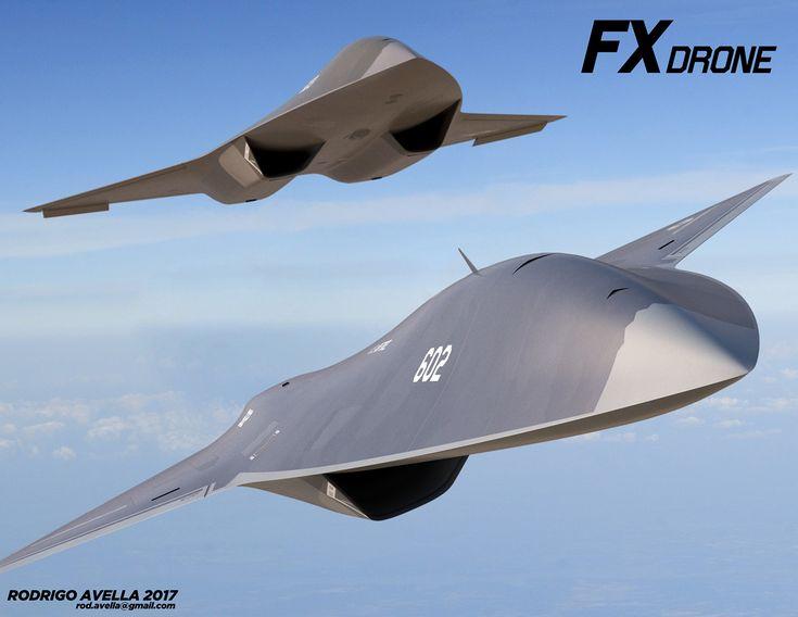 FX Drone on Behance