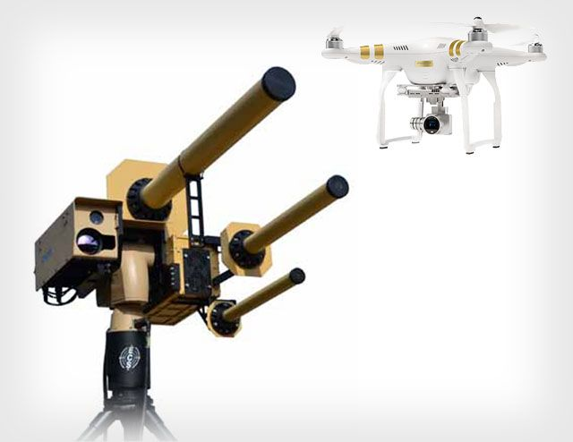 Anti-Drone Systems Are Starting to Take Off -- Camera drones have opened a whole...