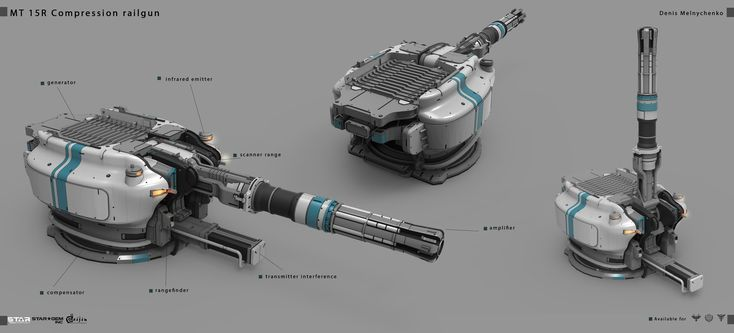 ArtStation - Concepts for Star conflict, Denis Melnychenko