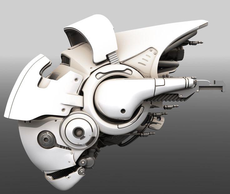 Scifi Drone, Tor Frick on ArtStation at www.artstation.co...