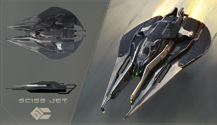 Sciss Jet, Peter Rossa on ArtStation at www.artstation.co...