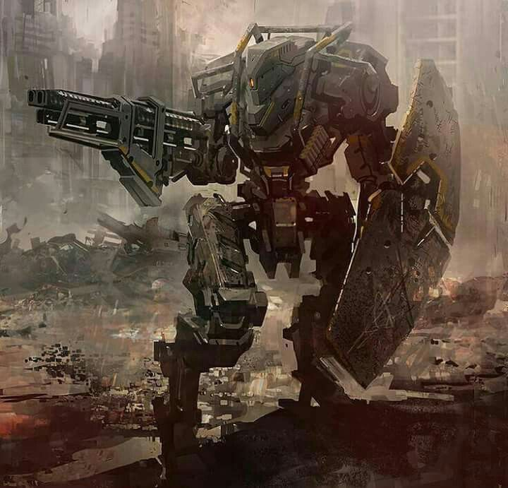 The Order of Dust mech