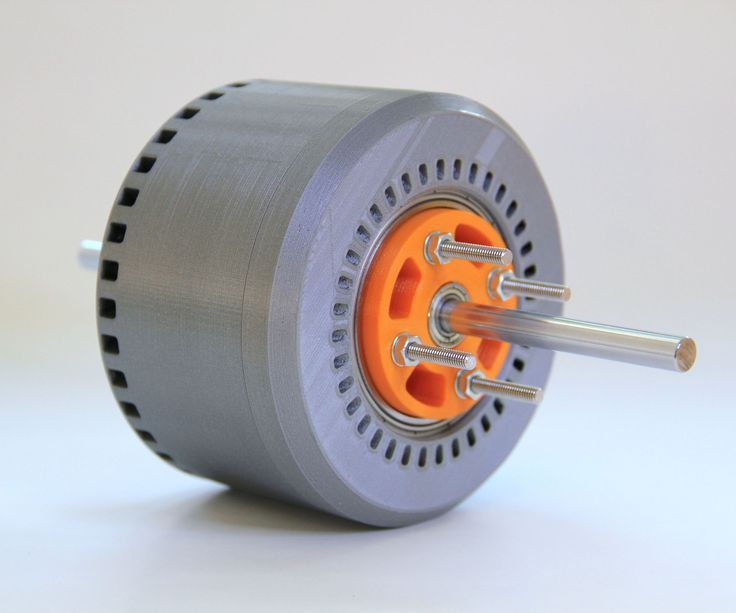 Drone Homemade : 600 Watt 3d-printed Halbach Array Brushless DC Electric Motor