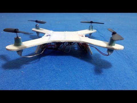 Drone Homemade : How To make a Mini Quadcopter  DIY Quadcopter  YouTube #quadcop...