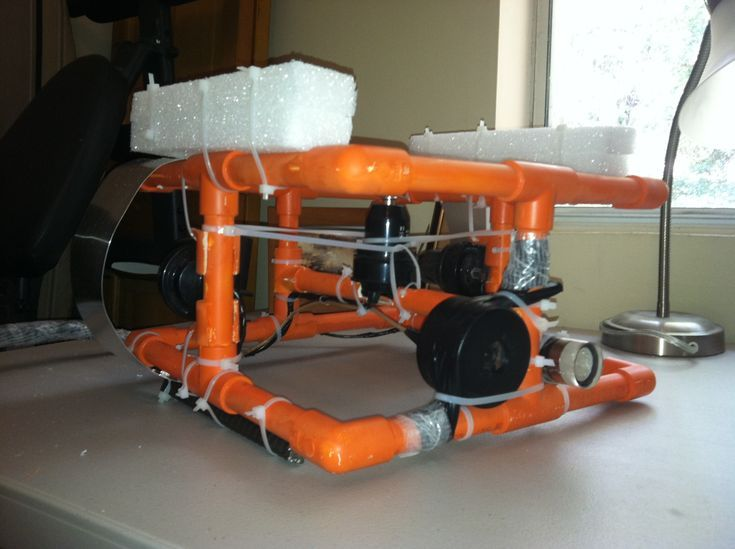 Drone Homemade : Looking for a fun project? Build your own ROV. Plans at www.eng...